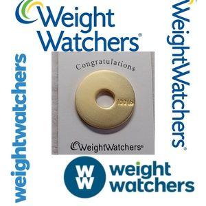 🏷 Weight Watchers 100LB Congratulations Charm